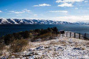 Lake Sevan in Winter