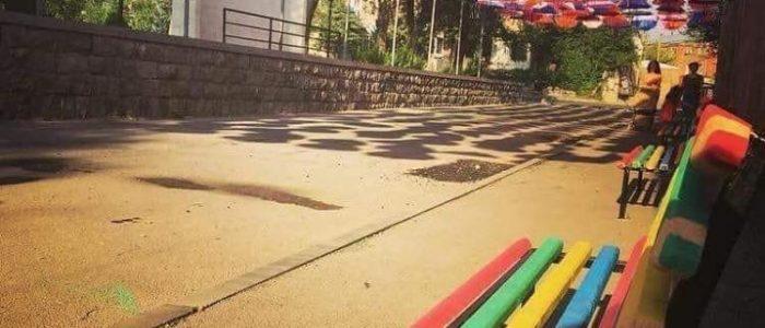 Floating Umbrellas in The Streets | Umbrella Sky in Armenia